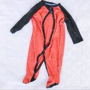 Seven for all mankind 7Fam one piece footie outfit
